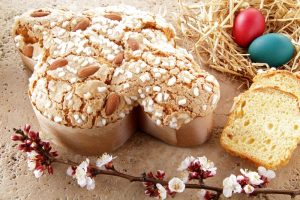 italian easter dessert colomba pasquale