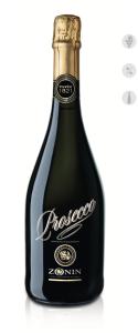 wine bottle prosecco zonin