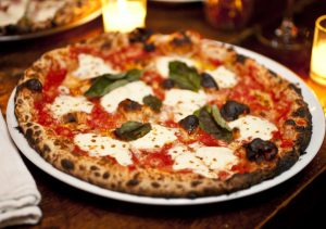 pizza napoletana basil bufala