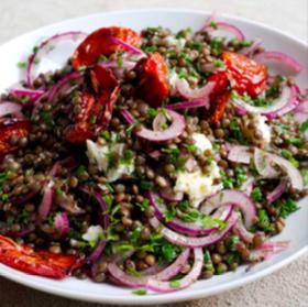 castelluccio lentils and gorgonzola yotam ottolenghi recipe